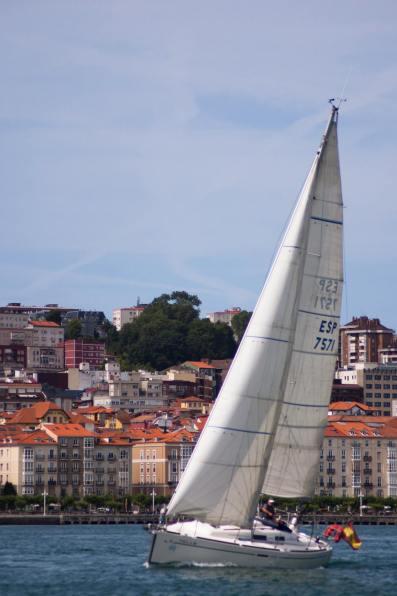 Sailboat - Santander, Spain (2015)