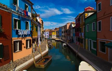 Colored Houses - Burano, Italy (2016)